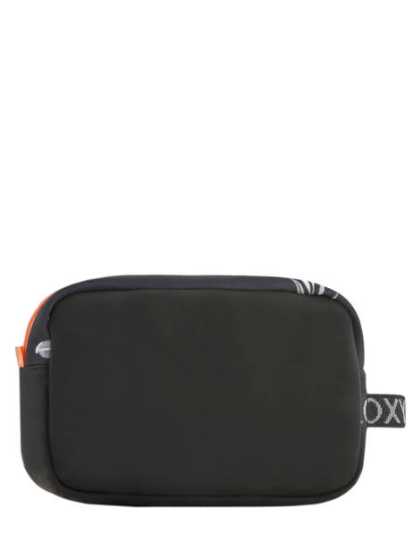 Toiletry Kit Softside Roxy Black luggage neoprene RJBL3160 other view 2