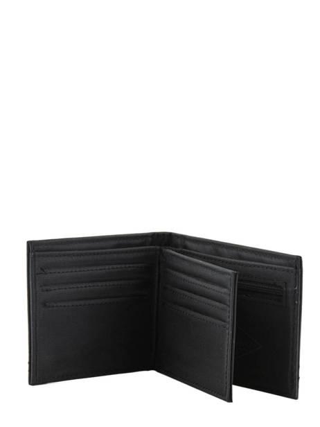 Portefeuille Quiksilver Noir wallets QYAA3823 vue secondaire 2