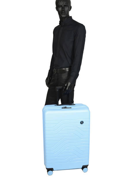 Hardside Luggage Ulisse Expendable By bric's Blue ulisse B1Y08431 other view 4