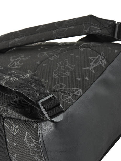 Sac à Dos Mini Totally Black Kidzroom Noir totaly black 30-8948 vue secondaire 1