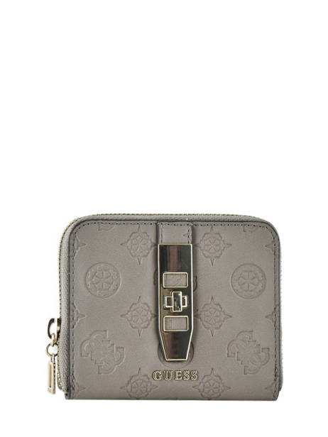 Portefeuille Guess Gris peony SG739837
