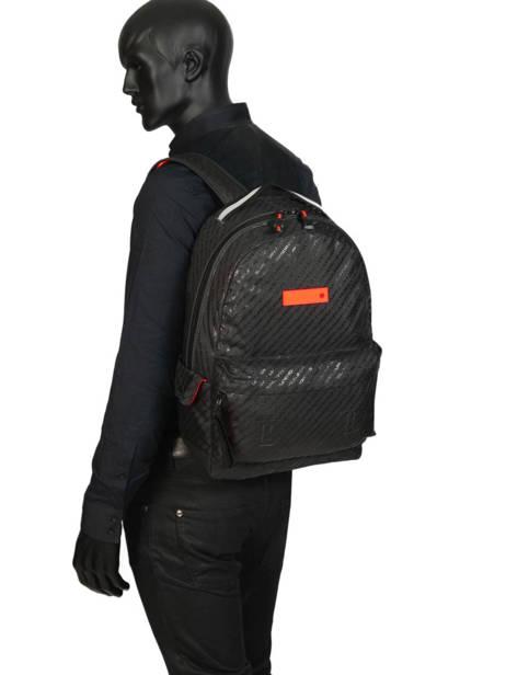 Sac à Dos Hollow Montana 1 Compartiment Superdry Noir backpack men M91600MU vue secondaire 3