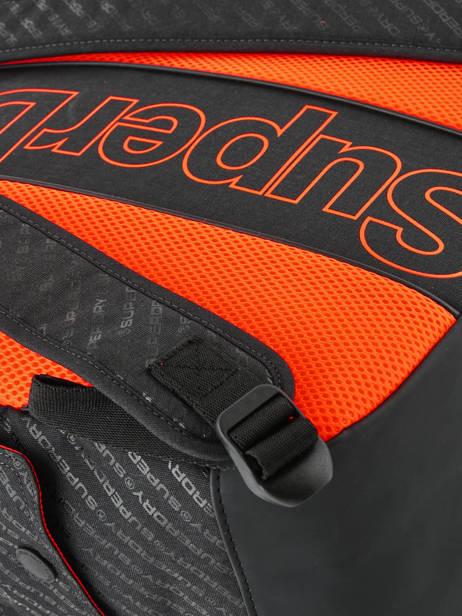 Sac à Dos Hollow Montana 1 Compartiment Superdry Noir backpack men M91600MU vue secondaire 2