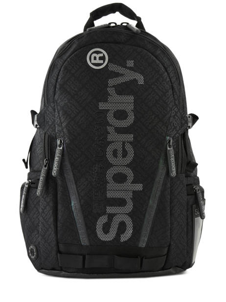 Backpack 2 Compartments + 15'' Pc Superdry Black backpack men M91500MU
