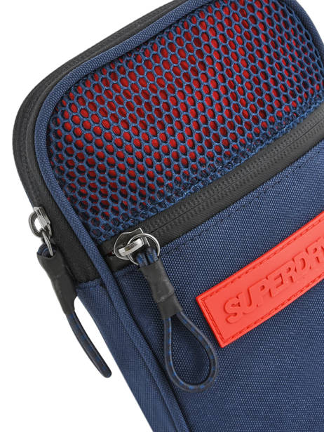 Sac Bandoulière Sport Pouch Superdry Bleu accessories men M91200MU vue secondaire 1