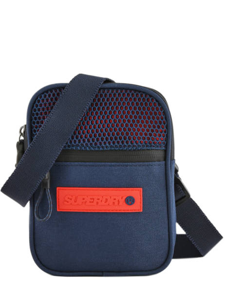 Sac Bandoulière Sport Pouch Superdry Bleu accessories men M91200MU
