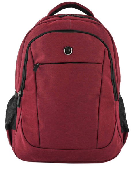 Backpack 2 Compartments Miniprix Red fac FN86137