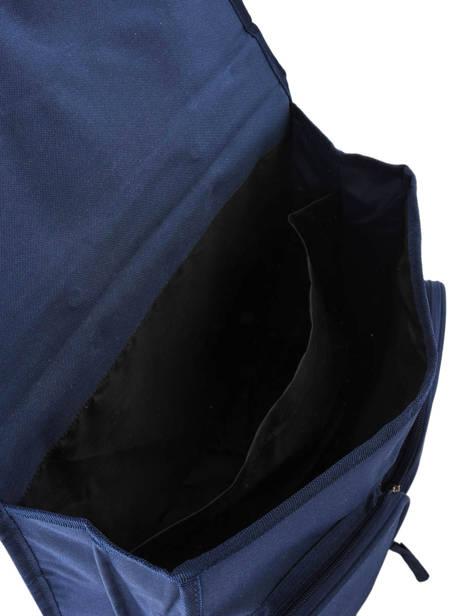 Satchel 2 Compartments Miniprix Blue school 16302P other view 3