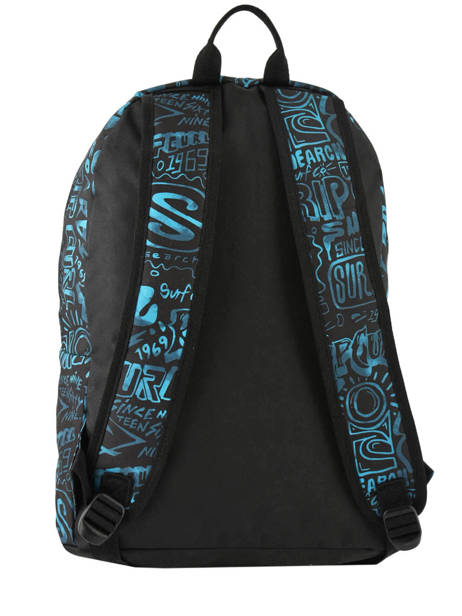 Backpack 1 Compartment With Matching Pencil Case Rip curl Blue frame deal BBPNX4 other view 4