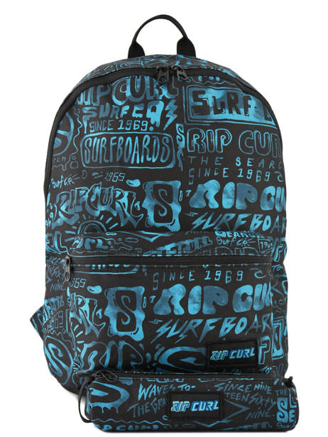 Backpack 1 Compartment With Matching Pencil Case Rip curl Blue frame deal BBPNX4
