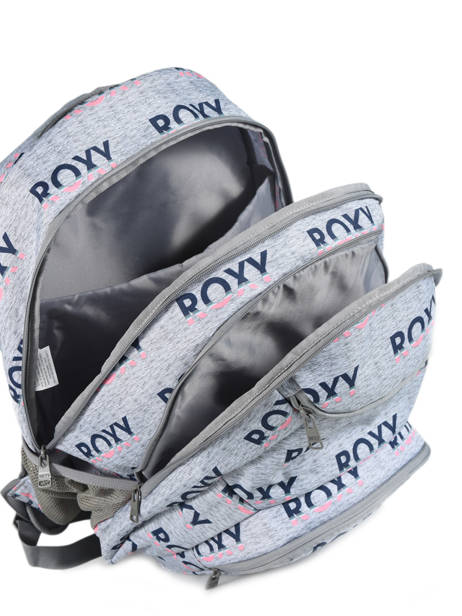 Sac à Dos Shadow Avec Trousse Offerte Roxy Gris back to school RJBP3953 vue secondaire 4