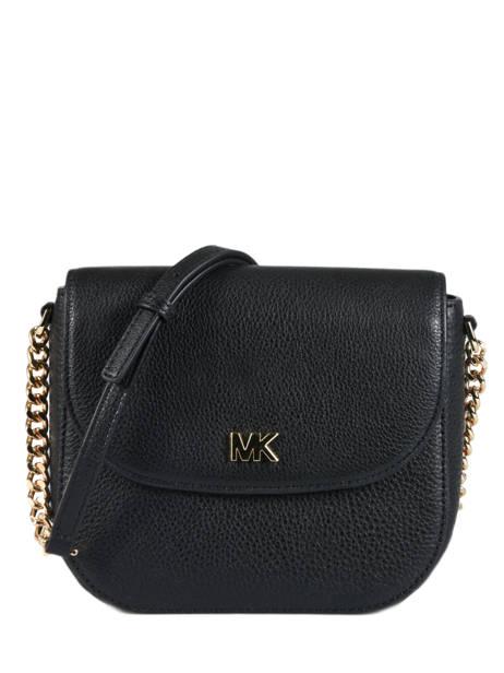 Mott Leather Crossbody Bag Michael kors Black crossbodies S8GF5C0L