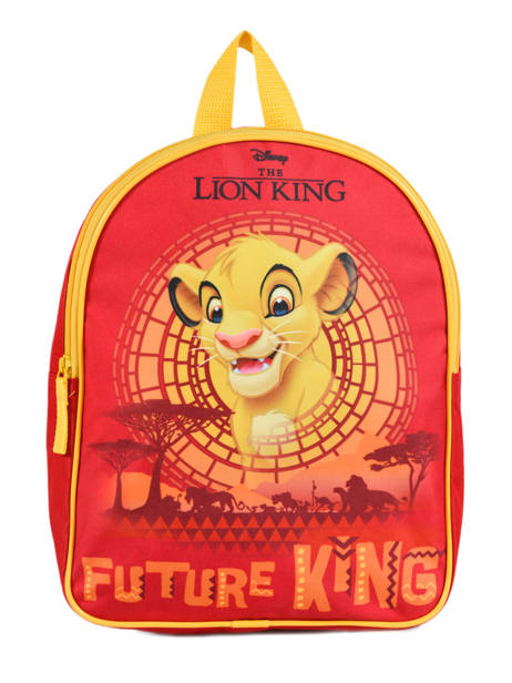 Sac à Dos Mini Le roi lion Rouge king ROINI03