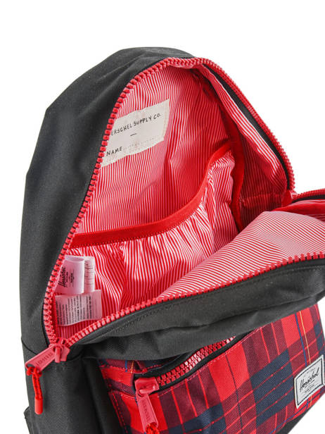 Backpack 1 Compartment Herschel Black youth 10312 other view 5