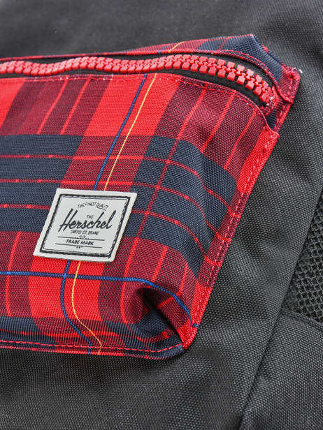 Backpack 1 Compartment Herschel Black youth 10312 other view 1