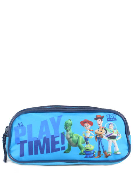 Trousse 2 Compartiments Toy story Bleu playtime TOYNI00