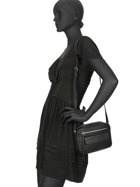 Shoulder Bag  Leather Lancaster Black 578-92 other view 2