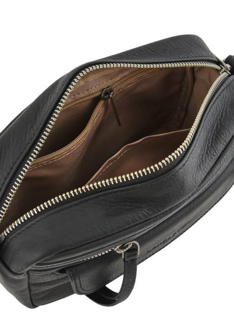 Shoulder Bag  Leather Lancaster Black 578-92 other view 4