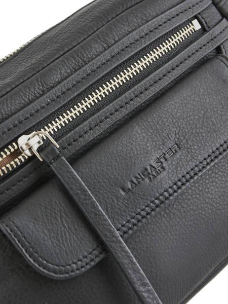 Shoulder Bag  Leather Lancaster Black 578-92 other view 1