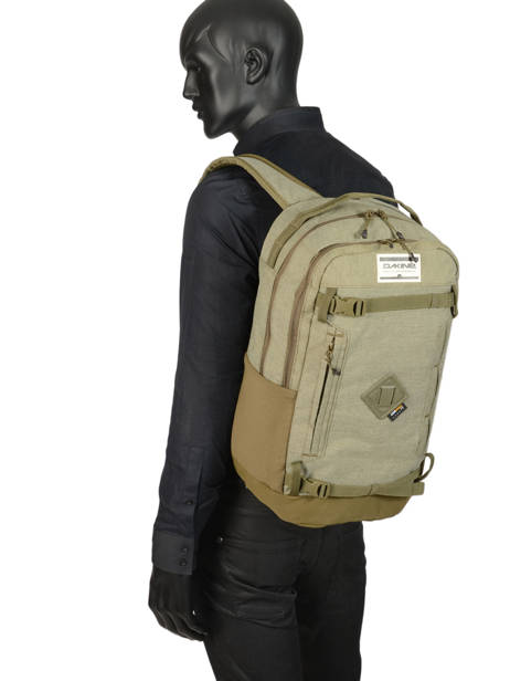 Backpack 2 Compartments + 15'' Pc Dakine Green urban 10002625 other view 3