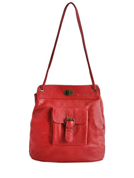 Shoulder Bag Vintage Paul marius Red vintage 1950