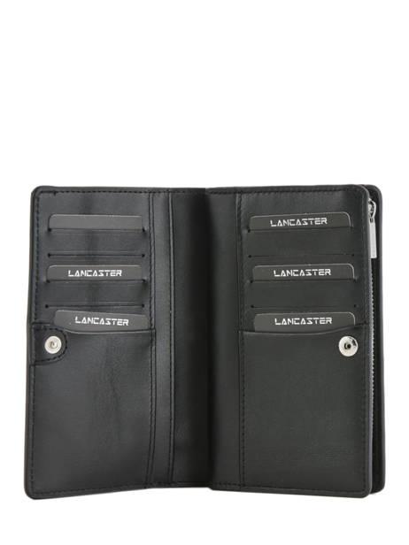 Wallet Leather Lancaster Black parisienne 171-06 other view 1