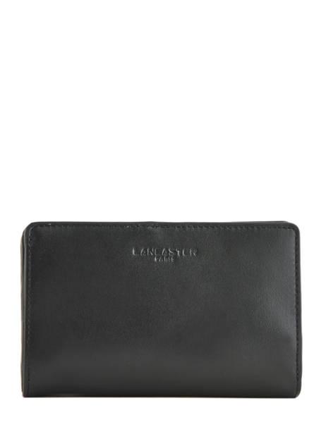 Wallet Leather Lancaster Black parisienne 171-06