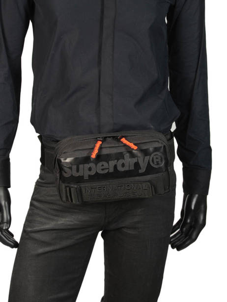 Fanny Pack Superdry Black accessories men M9100018 other view 2