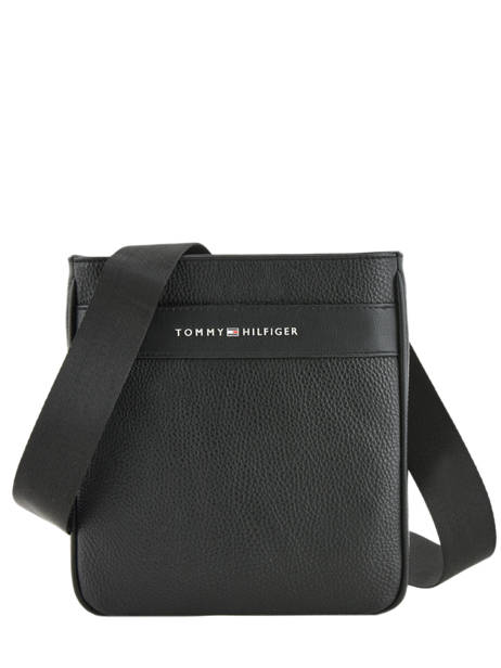 Crossbody Bag Tommy hilfiger Black business AM04755