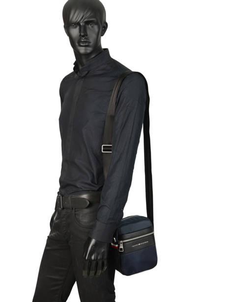 Crossbody Bag Tommy hilfiger Blue nylon mix AM04765 other view 2