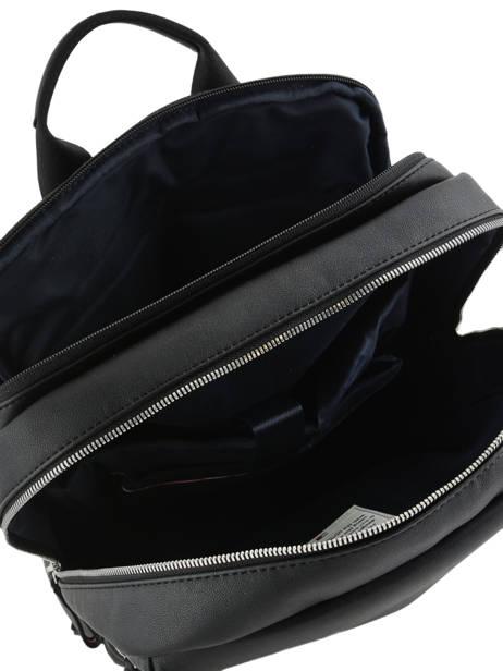 Backpack 13'' Laptop Tommy hilfiger Black novelty mix AM04888 other view 4