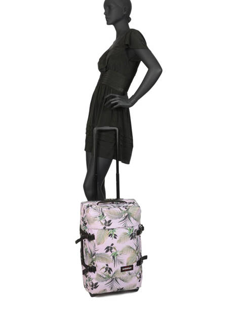 Valise Cabine Souple Eastpak Rose authentic luggage K61L vue secondaire 3