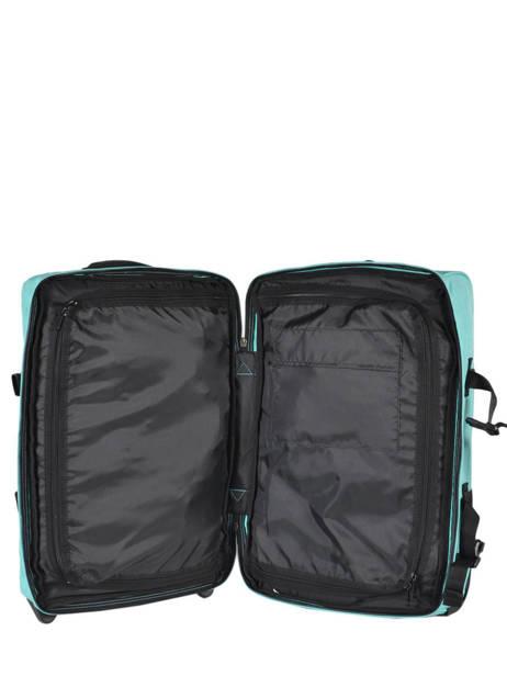 Valise Cabine Eastpak Bleu pbg authentic luggage PBGK61L vue secondaire 5