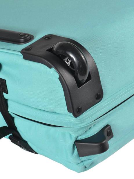 Valise Cabine Eastpak Bleu pbg authentic luggage PBGK61L vue secondaire 3