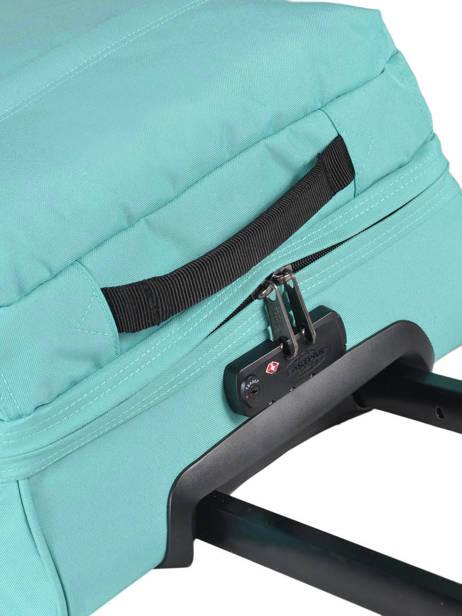 Valise Cabine Eastpak Bleu pbg authentic luggage PBGK61L vue secondaire 2