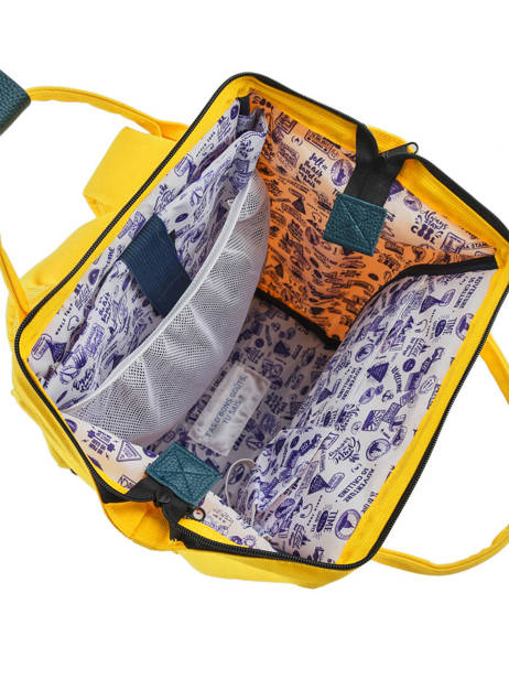 Customisable Backpack Cabaia Yellow tour du monde BAGS other view 5