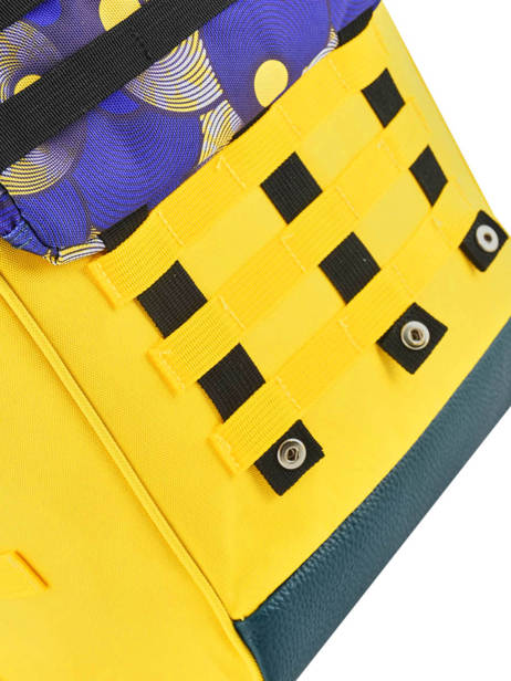 Customisable Backpack Cabaia Yellow tour du monde BAGS other view 1