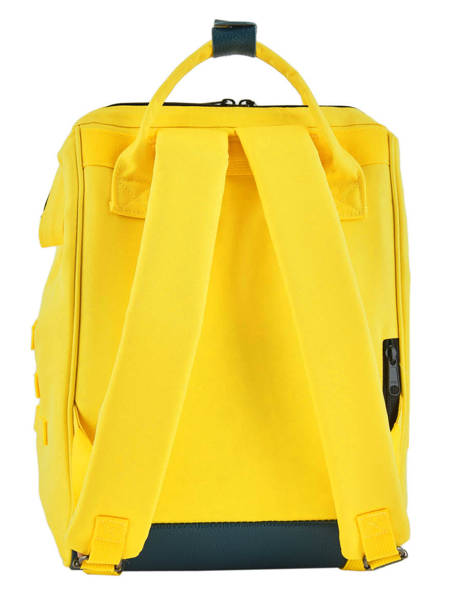 Customisable Backpack Cabaia Yellow tour du monde BAGS other view 4