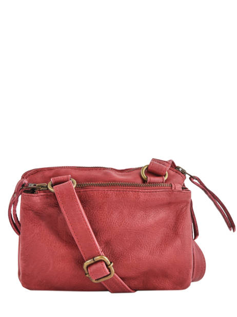 Shoulder Bag Cow Leather Basilic pepper Red cow BCOW28 other view 4