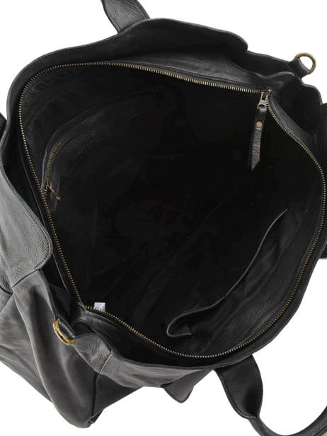 Cabin Duffle Cow Basilic pepper Black cow BCOW10 other view 4