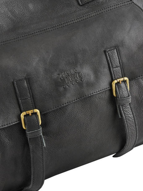Cabin Duffle Cow Basilic pepper Black cow BCOW10 other view 1