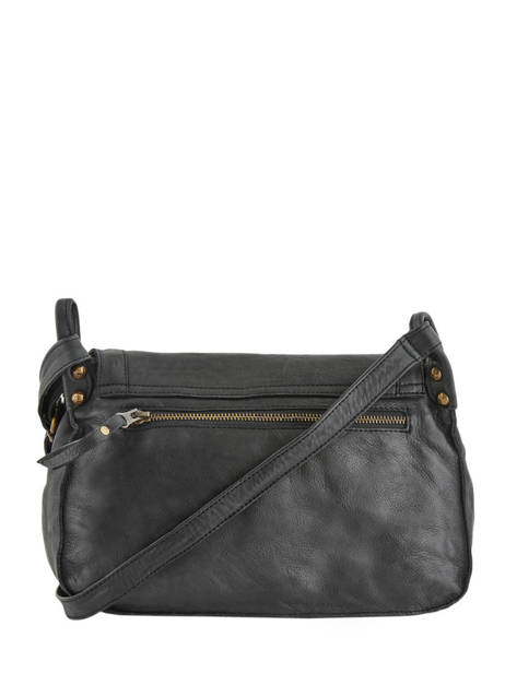 Shoulder Bag Cow Leather Basilic pepper Black cow BCOW15 other view 4