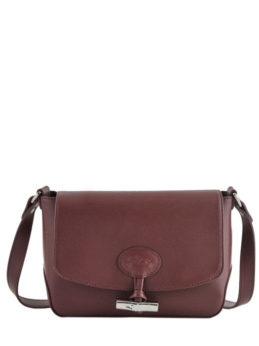 Longchamp Roseau Messenger bag Red