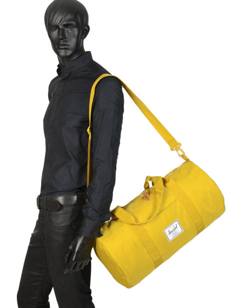 Cabin Duffle Supply Herschel Yellow supply 10251 other view 2