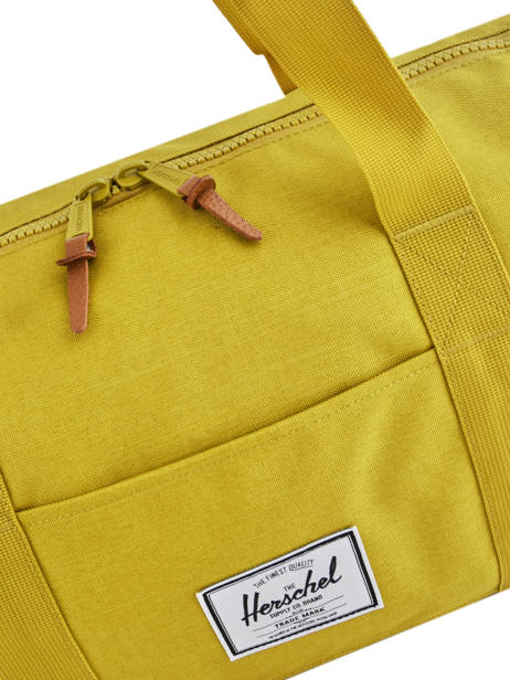 Cabin Duffle Supply Herschel Yellow supply 10251 other view 1