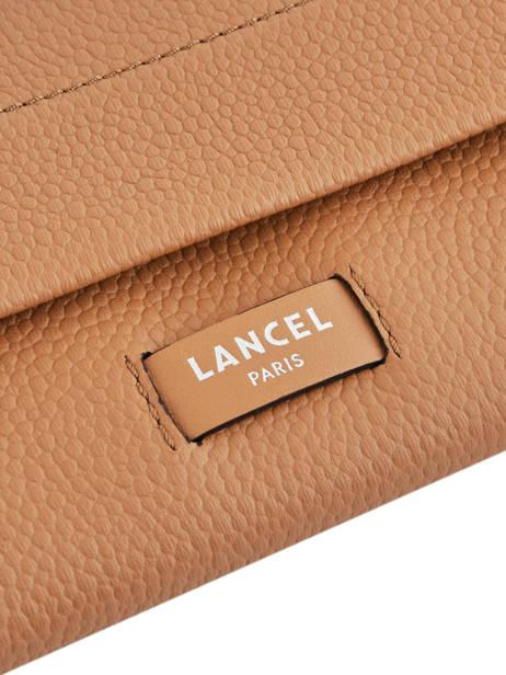 Slim Leather Wallet Ninon Lancel Brown ninon A09986 other view 1