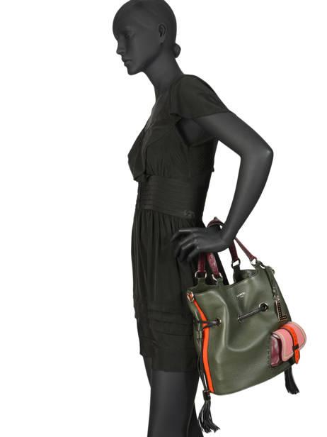 Medium Bucket Bag Premier Flirt Lancel Multicolor premier flirt A10295 other view 4
