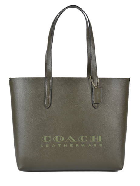 Highline Leather Tote Bag Coach Gray highline 55199