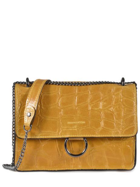 Shoulder Bag River Leather Milano Yellow river RI18062