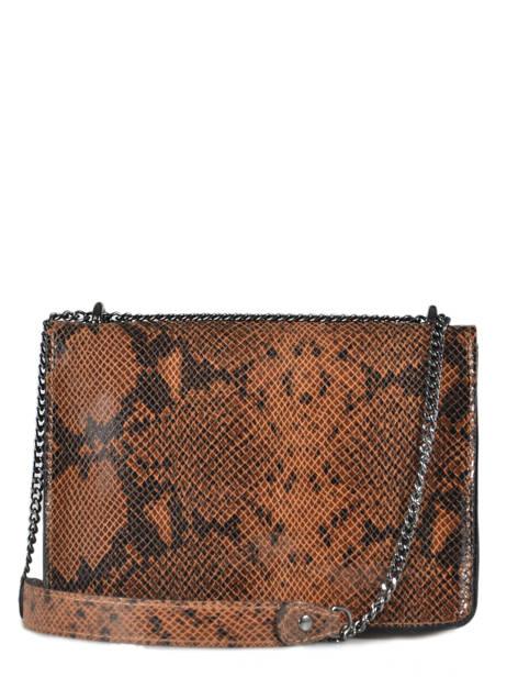 Shoulder Bag Python Milano Brown python PI180602 other view 2